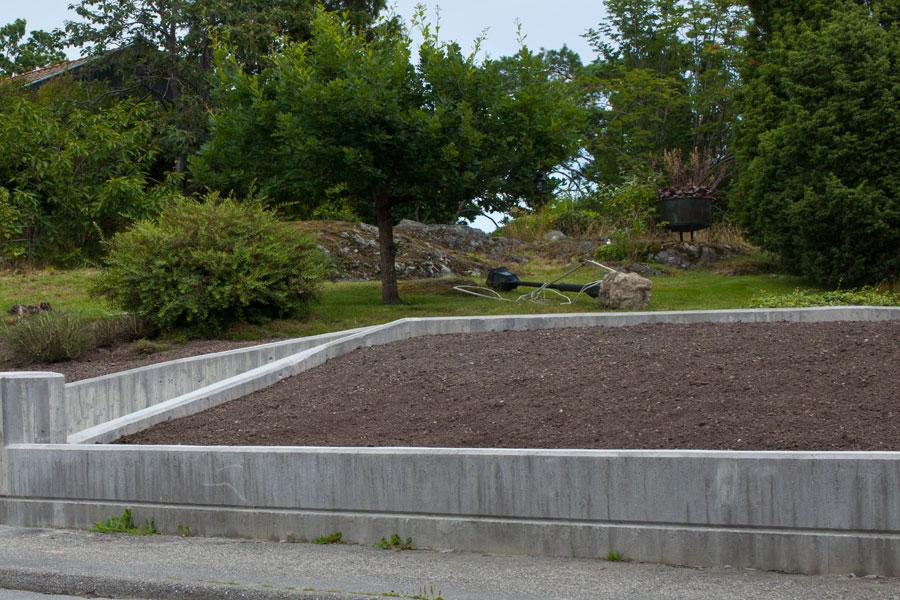 Anläggningsjord för gräsmatta