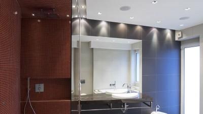 Rätt badrumsbelysning skapar atmosfär