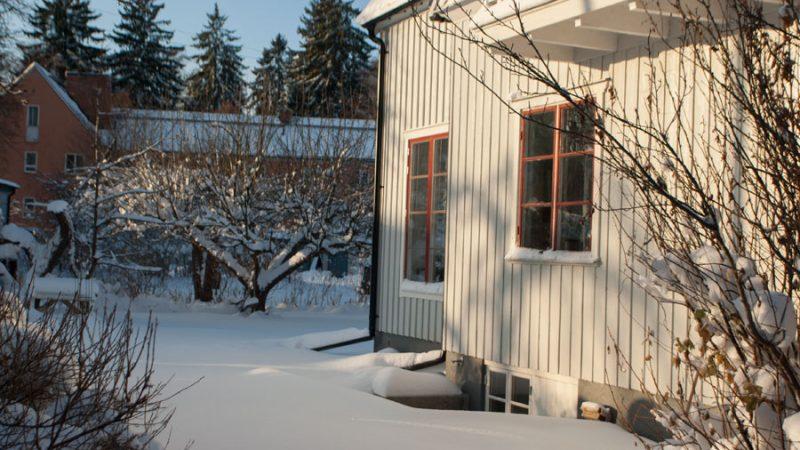 Dränera om på vintern – varför då?