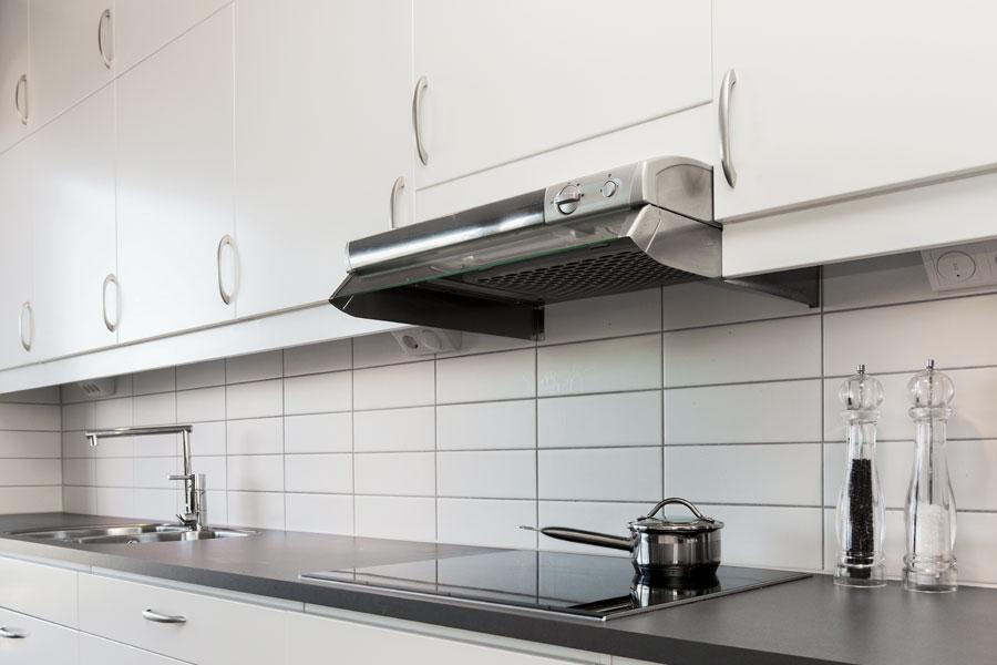 Köksfilter med kolfilter eller även så kallad kolfilterfläkt