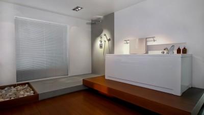 Skapa atmosfär i badrummet med punktbelysning
