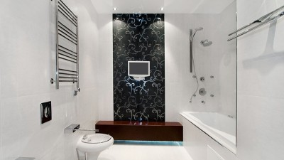 Det stilrena badrummet