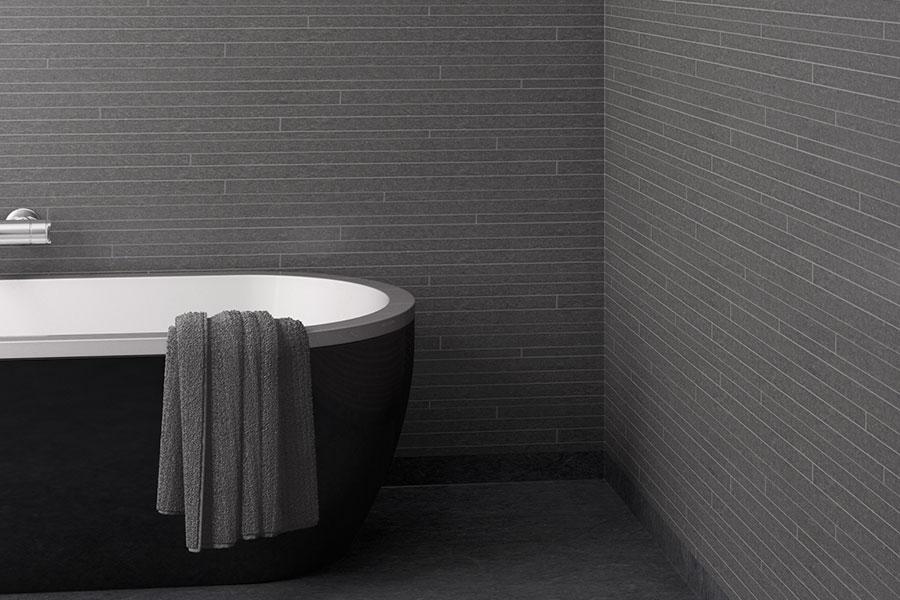 Våtrumsmatta för golv och vägg i badrum