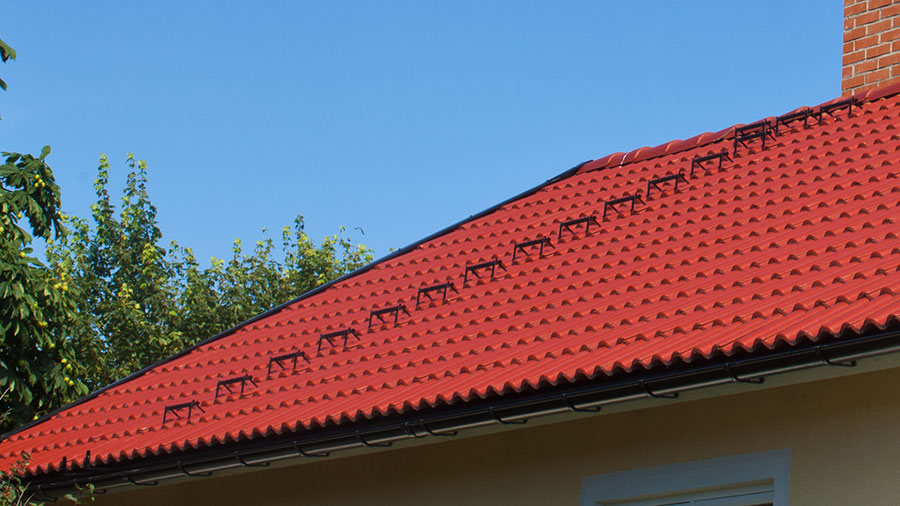 Bärläksteg på tak