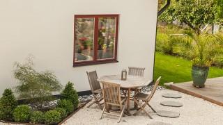 Dekorsten för trädgården