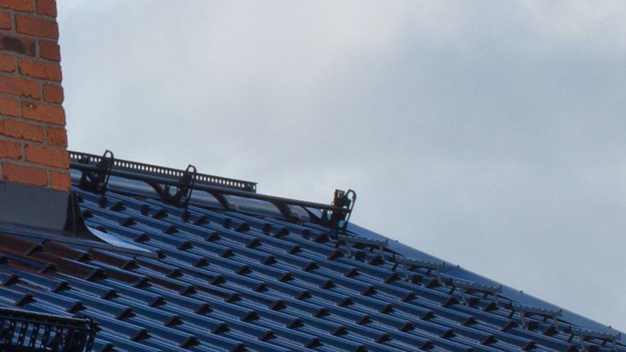 Nockräcke på tak