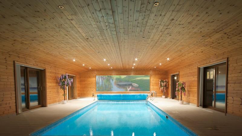 Poolhus – Ett poolrum som ger lång badsäsong
