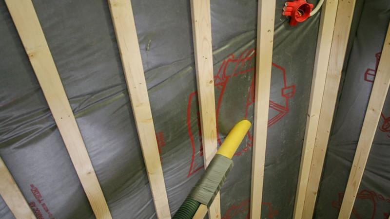 Tilläggsisolering av tak och vind