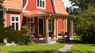 Slamfärg – Måla om fasaden med röd slamfärg