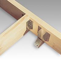 Balksko som gör att man kan tillverka golvreglar och horisontella stödreglar i samma dimension