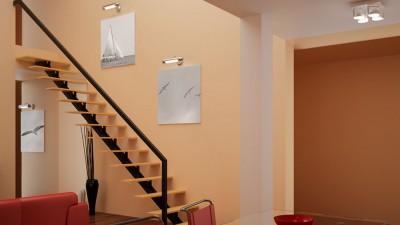 Balktrappa – modernt och luftigt