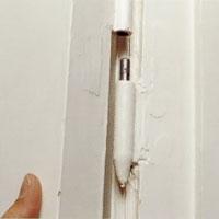 Lyft av dörren