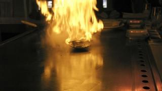 Brand vid matlagning