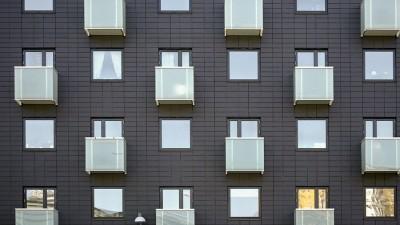 Fasadpanel och skivor av fibercement