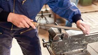Handfilar för metall och olika metallarbeten