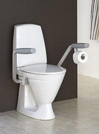 Handikappanpassad toalettstol