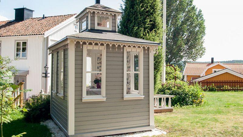 Ett vackert lusthus istället för uterum?