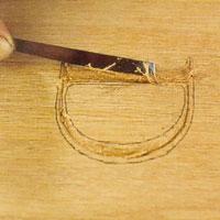 rensa bort alla flisor med en snedlöpare