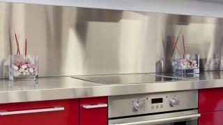 Byt till ny rostfri diskbänk