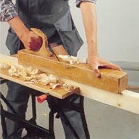 För stora eller långa ytor och kanter behövs en rubank