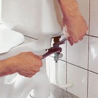 Skruva loss vattenröret från anslutningen.
