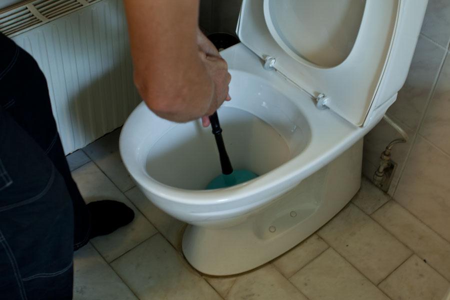 Vaskrensare i toalettstol