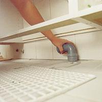 Rakt vattenlås handfat