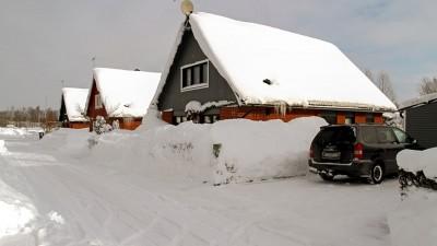 En plan för snöröjning med snöslunga och snöredskap