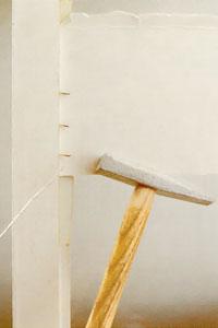 Fäst fast rutan med stift