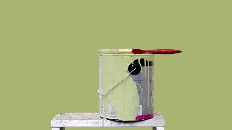 Förvara målarfärgen rätt