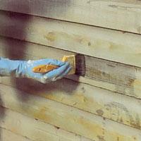 Har ytan mögel, rötangrepp , eller algangrepp ska den skrubbas med ett särskilt medel.