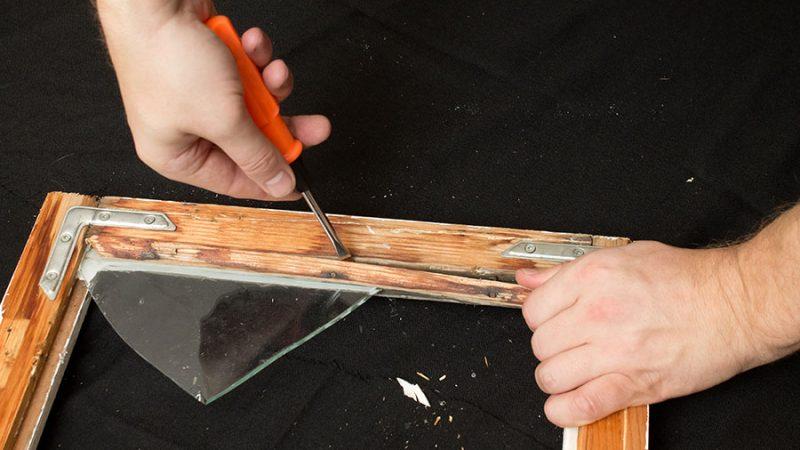 Byt ett trasigt fönsterglas