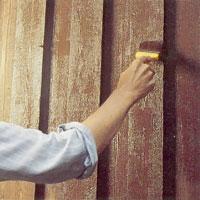 För att undvika flammig yta bör du planera målningen.