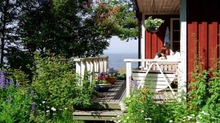 Bygg en altan och altangolv av trätrall