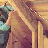Bygg på snedtaket så att du får plats för rätt isolertjocklek