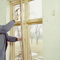 Fönsterbänken ska torka under press
