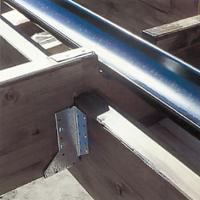 Gör uttag för hängrännorna i takstolarna