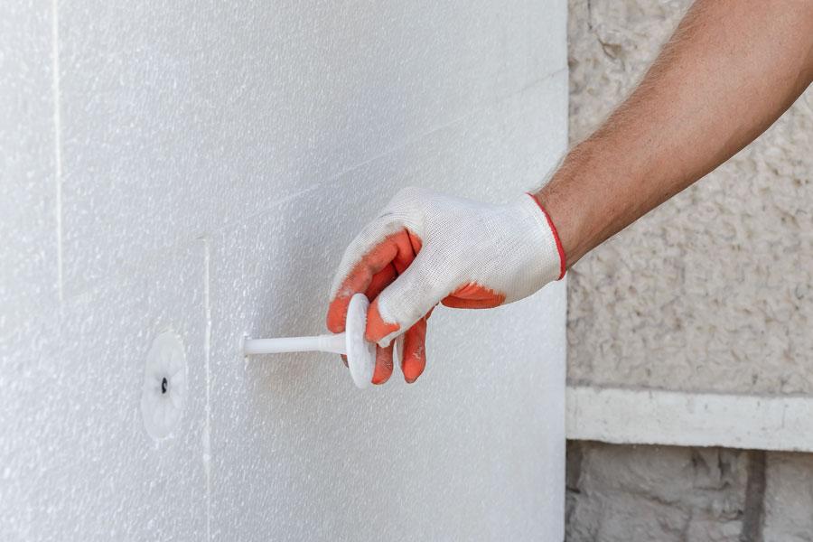 Cellplastisolering används mest till golv, tak och väggar