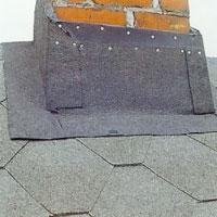 Kappan täcker nu med marginal hela skorstenens underkant