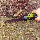 Klipper kant med trädgårdssax