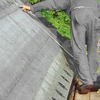 Kontroll från takfoten
