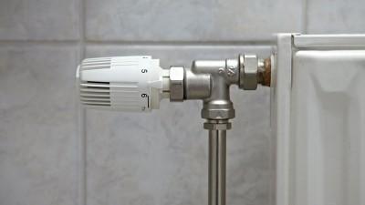 Om radiatorn läcker vatten
