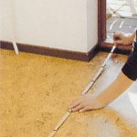 Mät upp golvytan exakt och räkna ut åtgången av klinkerplattor