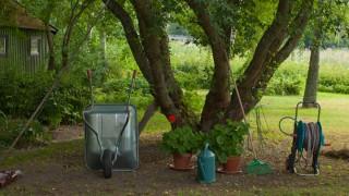 Trädgårdsredskap – Spadar, skyfflar och grepar