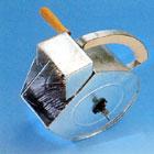 Stänkapparat för ädelputs och spritputs