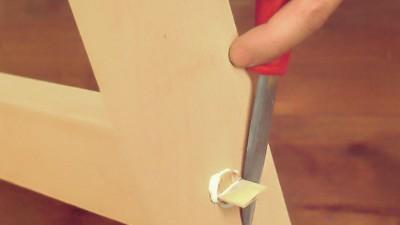 Möbelrenovering – Lär dig foga samman möbler med tapp och kil