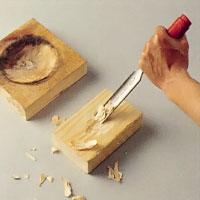 Träformar till metall kan du tillverka själv.