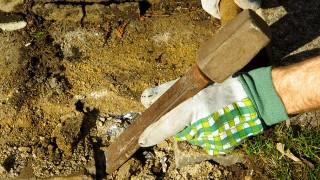 Verktyg och handredskap för sten och betong