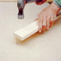 Gör även i ordning handledarna innan bromonteringen.