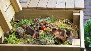 Bygg en kompostbehållare